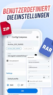 AZIP Master: ZIP Dateien Öffnen, RAR Entpacken Screenshot