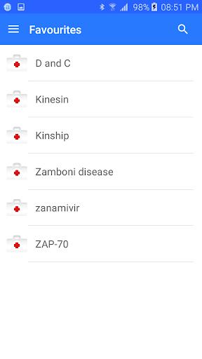 Medical terminology - Offline 7.0 Screenshots 6