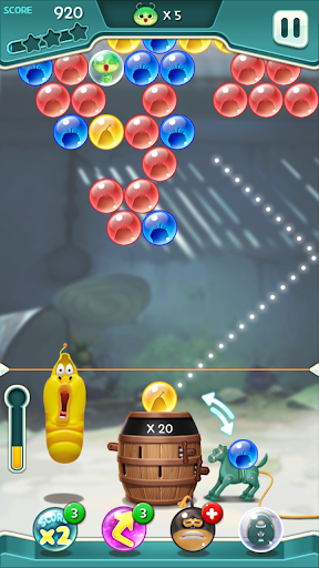 Larva Bubble Pop apkpoly screenshots 9