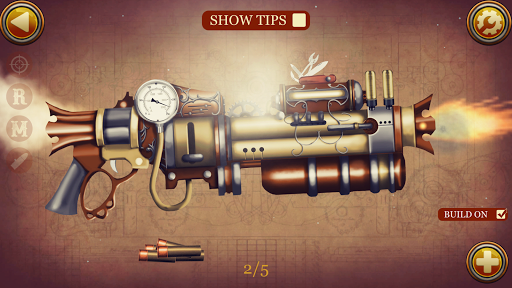 Steampunk Weapons Simulator - Steampunk Guns  screenshots 1