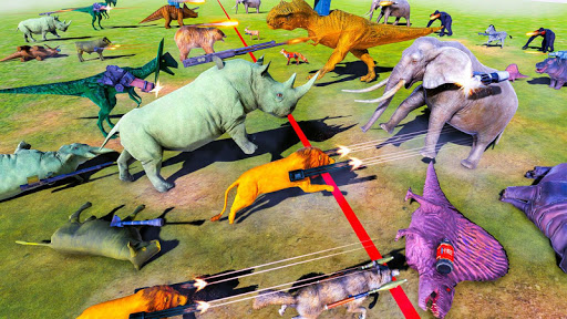 Beast Animals Kingdom Battle: Dinosaur Games 2.6 screenshots 3