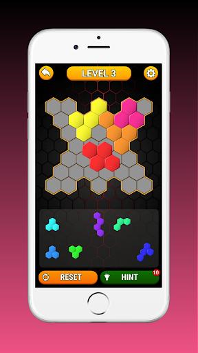 Code Triche Hex Block! Hexa Match Puzzle Game (Astuce) APK MOD screenshots 3
