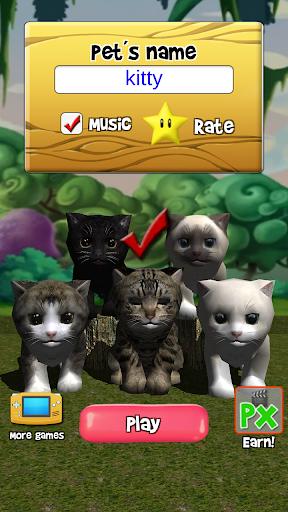 Talking Kittens virtual cat that speaks, take care 0.6.7 screenshots 2