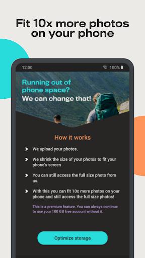 Degoo: 100 GB Cloud Storage apktram screenshots 7