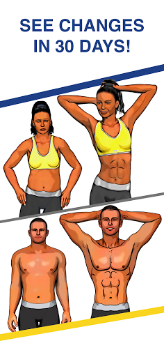 Abs Workout - Daily Fitness 4.7.9 Screenshots 1