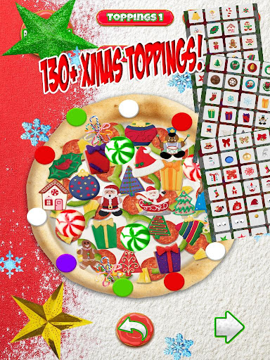 Christmas Candy Pizza Maker Fun Food Cooking Game  screenshots 12