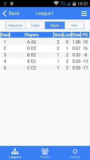 badminton tournament maker screenshot 2