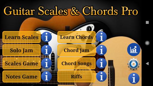 Download APK: Guitar Scales & Chords Pro v127 Enhanced Sound [Paid]
