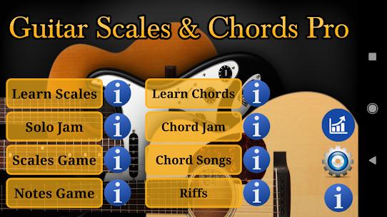 Guitar Scales & Chords Pro (MOD APK, Paid) v125 1