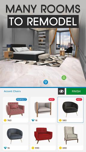 Home Makeover: Decorating Games & House Design Apkfinish screenshots 4