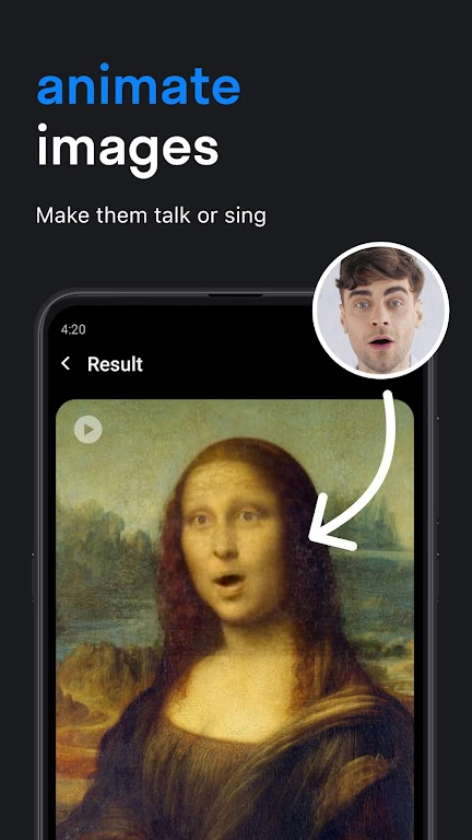 Reface: Face swap videos and memes with your photo poster 2