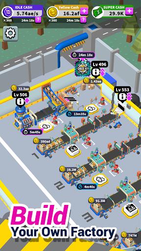 Idle Super Factory 1.0.7 screenshots 2