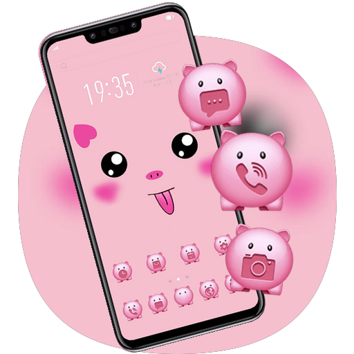 Hand Drawing Cute Pig Diy Theme Galaxy J2 Apps On Google Play