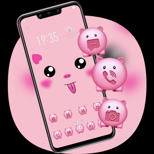 Hand Drawing Cute Pig Diy Theme Galaxy J2 Apps On Google Play