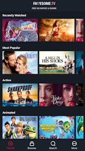 Fawesome v4.6 MOD APK – Watch FREE and Awesome Movies, TV shows 2