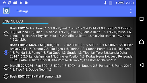DPF Monitor for Fiat & Alfa Romeo  Screenshots 14