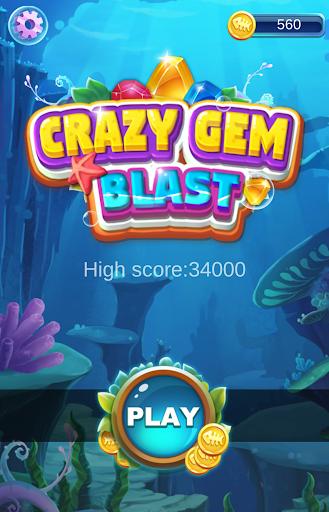 Crazy Gem Blast 1.0.8 screenshots 1