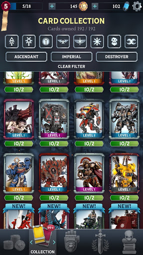 Warhammer Combat Cards - 40K Edition 31.1 screenshots 6