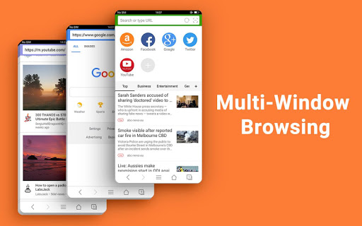 Web Browser - Fast, Private & News 1.6.3 screenshots 4