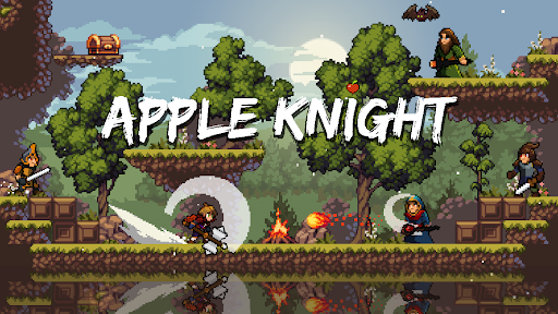 Apple Knight: Action Platformer  screenshots 1
