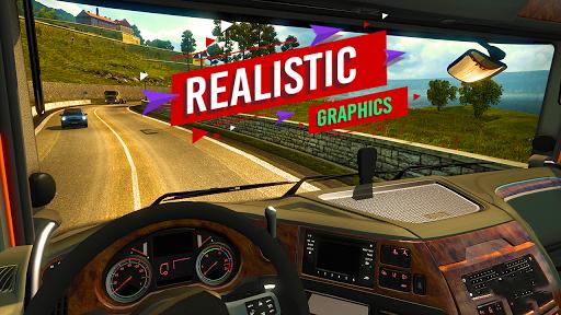 Truck Simulator Offroad Euro Cargo Transport 2 1.0 screenshots 1