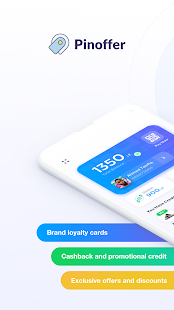 Pinoffer Nearby Offers & Loyalty Cashback Wallet