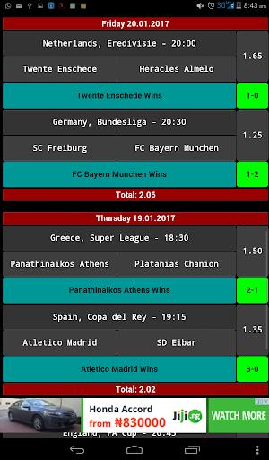 daily betting tips - 2 odds screenshot 3