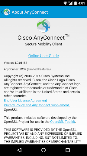 AnyConnect 4.8.03651 Screenshots 4