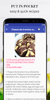 Dessert recipes free app offline with photo.