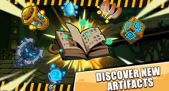Tap Dungeon Hero MOD APK (All Unlocked) 3