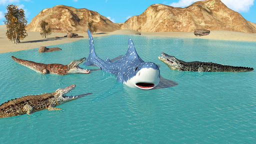 Hungry Crocodile Wild Hunt Simulation Game 8.3 screenshots 7