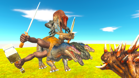 Animal Revolt Battle Simulator (Official) Mod Apk 1.0.9 (A Lot of Gold Bars) 2