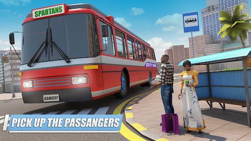 City Coach Bus Simulator 3D Apkfinish screenshots 6