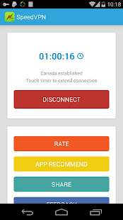 SpeedVPN Free VPN Proxy screenshots 5