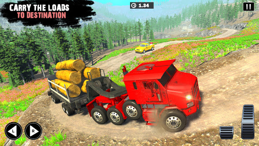 Offroad Cargo Truck Driver: 3D Truck Driving Games 4.7 Screenshots 9