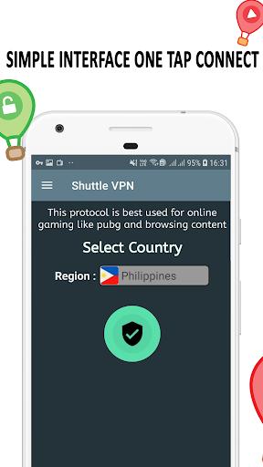 VPN : Shuttle VPN, Free VPN, Unlimited, Secure VPN 2.12 Screenshots 3