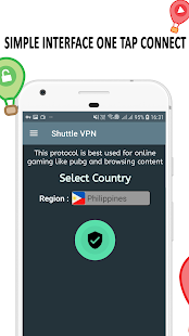 VPN : Shuttle VPN - Free VPN Proxy - Unblock VPN Screenshot