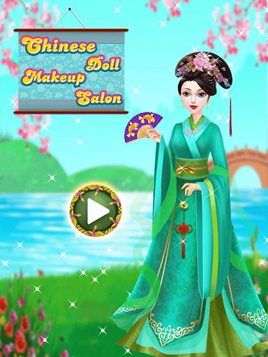 Chinese Doll Makeup Salon Spa  screenshots 1