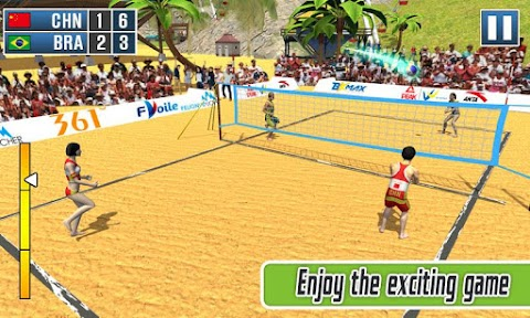 Volleyball Exercise - Beach Volleyball Game 2019のおすすめ画像2