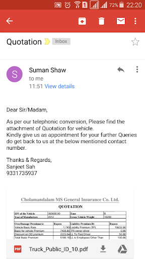 Motor Insurance Calculator android2mod screenshots 6