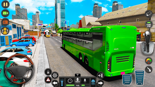 Public Transport Bus Coach: Taxi Simulator Games apktram screenshots 3