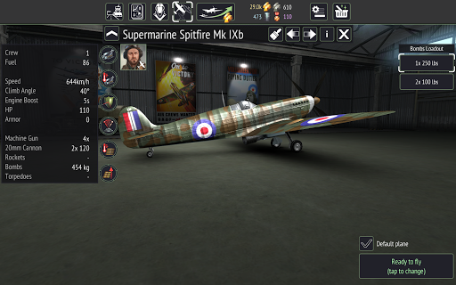 Warplanes: WW2 Dogfight  screenshots 24