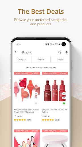 YesStyle - Fashion & Beauty Shopping 4.2.33 Screenshots 4