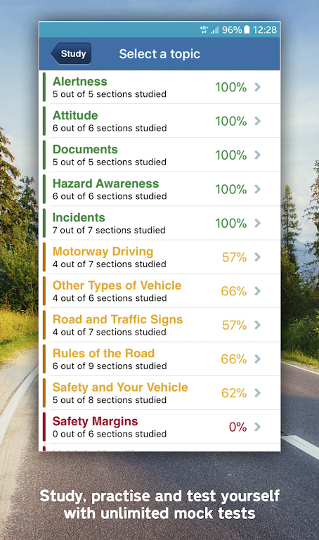 Official DVSA Theory Test Kit poster 4