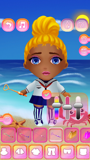 Cute Dolls - Dress Up for Girls 1.3 screenshots 2