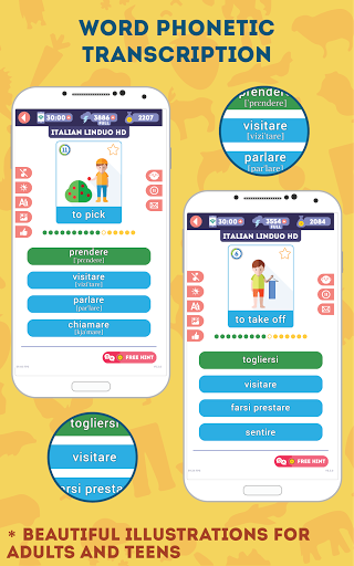 Italian for Beginners: LinDuo HD 5.4.0 screenshots 4