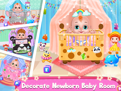 Pregnant Mommy And Baby Care: Babysitter Games 5