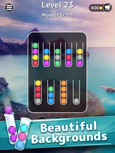 Ballscapes: Ball Sort Puzzle & Color Sorting Games  screenshots 8