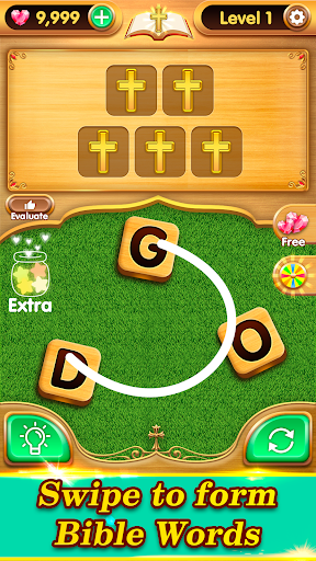 Bible Word Puzzle - Free Bible Word Games 2.11.29 pic 1