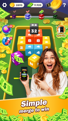 Lucky Cube - Merge and Win Free Reward 1.3.1 screenshots 1